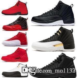Hot Air jordon Retros Winterized 12 12s Mens Basketball Shoes Wings Nylon Bulls men Sport Sneakers Wholesale Drop