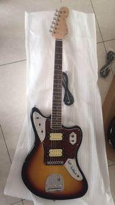 Frete grátis! Atacado Guitarra Nova F Jaguar Modelo Guitarra Elétrica de Alta Qualidade Em Sunurst 161127 20190121