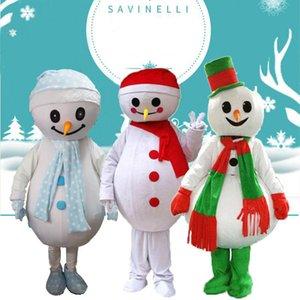 2019 fabrika sıcak yeni The Christmas kardan adam maskot kostüm karikatür kostüm yürüyen bebek kostüm kira yetişkin çizgi film karakterleri