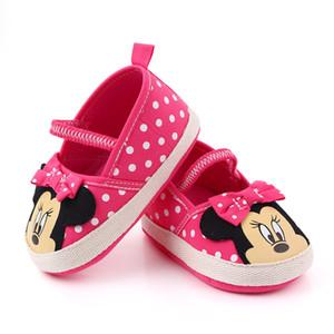 Baby-Schuhe Baby weiche Sohle Krippe Walker Schuhe High Quality First Walker Neugeborene Schuhe 0-18M