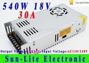 Freeshipping один выход импульсный источник питания 18 в 30A 540 Вт поставки электрического оборудования драйвер промышленного SMPS монитор трансформатор