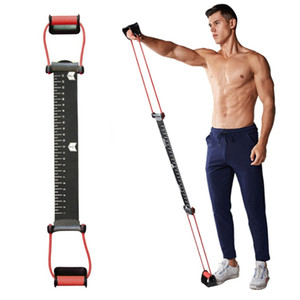 Rubber Training Resistance Chest Expander Rope With Push Ups Stands Grip Hand Workout Muscle Equipment Tools