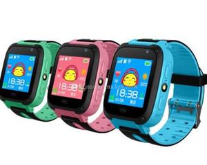 2019 Montre Smart Watch Pour Enfants Q9 Enfants Anti-Perdu Montres Intelligentes Smartwatch LBS Tracker Montre SOS Appel Pour Android IOS