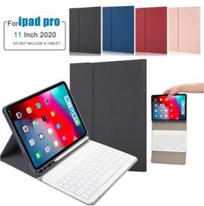 Business Fund For 2020 della cassa della tastiera senza fili del cuoio bianco iPad Pro11 stand 2020 per iPad Pro11 Tastiera Bluetooth copertura con il supporto della matita