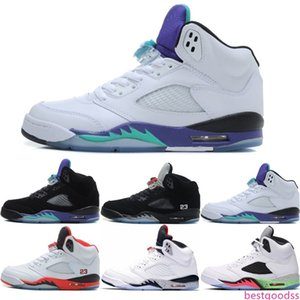 5 Olympic Men 5s V Basketball Shoes Mandarin Duck Fire Red Oreo Camo Black Grape White Cement Silver Mens Sport Trainer Sneakers 41-47