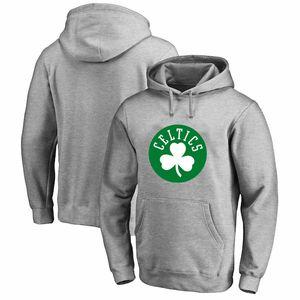 vendite calde donne degli uomini della gioventù Boston Celtics verdi 2019-2020 Città Versione Club Pullover di pallacanestro con cappuccio