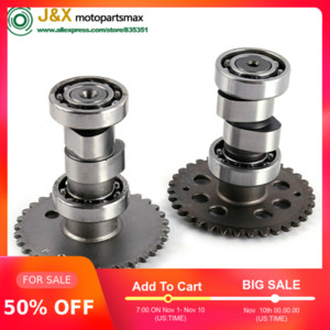 A9 Racing Cam Performance Racing Cam A9 GY6 50 60 80 Árbol de levas Scooter Parts 139qma 139QMB