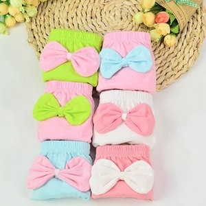 Baby girl infant training Pants panties Cloth Diapers kids big bow underwear