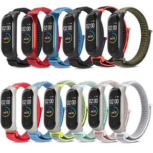 Mi Band 4 Strap Sport Nylon Dragonne pour Xiaomi Mi Band 3 Bracelet Strap Sport Bracelet 12 Couleur Par DHL