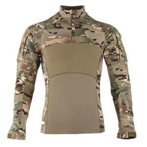 Men 2020 News Combat Shirts Proven Tactical Clothing Uniform CP Camouflage Army Suit Breathable Work Clothes
