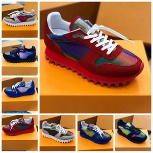 2020 고급 디자이너 새로운 공기 RUNNER SNEAKER 가을 apring 스트레치 물질 남자 신발 사이즈 38 ~ 45