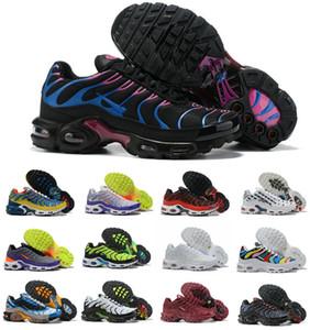 도매 2019 TN PLUS 남성 원래 패션 스니커즈 TN의 AIR 신발 판매 최고 품질의 저렴한 프랑스 바구니 TN ReQUIN CHAUSSURES 크기 40-46