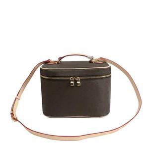 new fashion Makeup Bag Women Handbag Old Flower Make Up Bag Designer Pouch Fashion Designer Cosmetic Bag