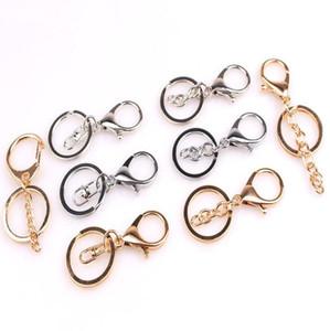 Porte-clés en métal Epackfree de Split Key Ring avec la chaîne de Split Key Ring avec chaîne Argent Or Guqing Métal Couleur Keychain de Split LXL791-1