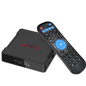 Android 9.0 TV BOX N5 NOVA RK3318 Quad-core 2GB 16GB 4GB 32GB 4GB 64GB built-in 2.4G 5.8GWIFI&bluetooth smart box ms
