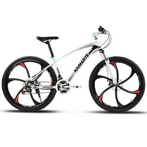 24 и 26 дюймов горный велосипед 21 скорость велосипеда передние и задние дисковые тормоза велосипеда с поглощающими верхом велосипед