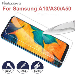 2.5D 9h protecteur tempéré écran de verre A1020 A20 A30 A40 A50 e A60 A70 A80 A90 film de protection pour le système Galaxy
