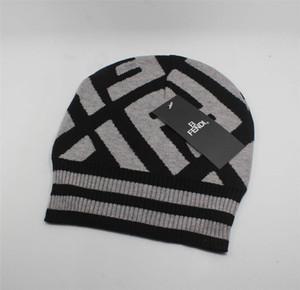 2020 NOUVEAU Bonne qualité des marques de luxe ICON D2 Automne Hiver laine unisexe mode chapeau tuques occasionnels chapeaux de lettre pour