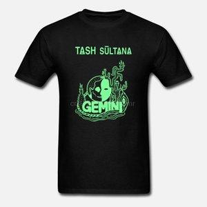 T-shirt Gemini Tash Sultana Indie manches courtes T-shirts Regular Black Men