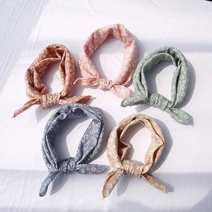 Big size baby triangle towel saliva towel pure cotton children's square Triangle saliva scarf baby scarf bib