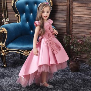 Elegant Flower Girls Dress for Wedding Kids Dresses for Girls Formal Clothes Evening Children Princess Party Pageant Gown Dress
