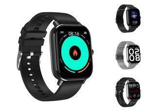 Dt19 Renk Ekran DT-35 Akıllı İzle Erkek Deri Çağrı Nabız Tansiyon Spor Spor Tracker DT-35 Smartwatch # QA661 Dial kol saati