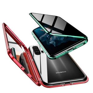Magnetische Adsorption Anti-Peeping Privacy Protection 360 Hartglas-Schutzhülle für Huawei Honor 20 Honor 20Pro P30 Pro Nova 4