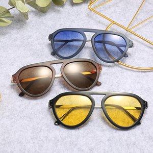 Sunglasses Brands Top Online American 8 Sunglasses PC Cadre Unisexe Couleurs Couleurs Européenne 80s Sunglasses Marque Mode Ninvv