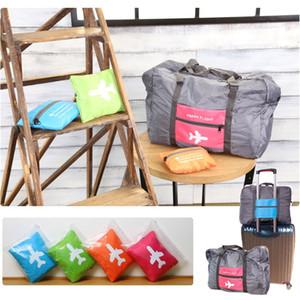 32L Travel Luggage Bag Big Size Folding Carry-on Duffle bag Foldable Travel Bag Green Blue Orange