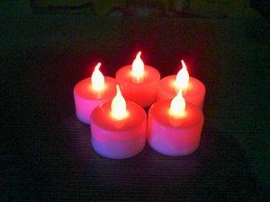 Led Candle Electronic Candle Creative Wedding Birthday Celebration Candle Layout Props Led Small Tea Waxes Novelty Lighting