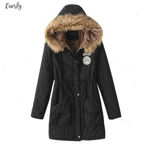 Winter Female Coat Thickening Cotton Winter Jacket Fashion Womens Outwear Parkas For Women Winter 2020 New Parkas Women