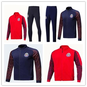 2019 2020 Chivas de Guadalajara спортивный костюм 2019 2020 MEXICO Club LIGA MX тренировочный костюм A. PULIDO Майо де фут футбольная куртка