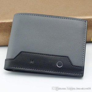 Promotion White Hexagonal Star Logo Cufflinks Man Suit Shirt MB Cuff Links,Men Luxury Genuine Leather MB Wallet Gmb Card Holder Best Gift