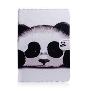 Para huawei mediaPad m5 lite 10 tablet case capa flip stand carteira de couro colorido desenho tigre leão coruja flor