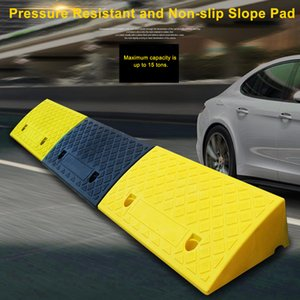 Portable Lightweight Plastic Curb Ramps Non-slip Heavy Duty Plastic Curb Ramp For Wheelchair Mobility Scooter Bike Motorcycle