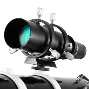 Guida 50 millimetri Scope cercatore di 183 millimetri telescopio astronomico 1.25in Lunghezza focale Rapporto Guidescope con doppio elicoidale focheggiatore