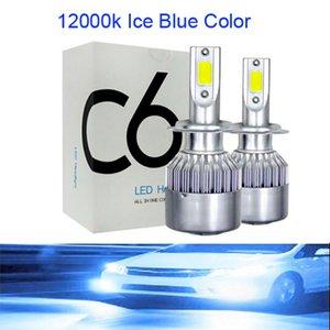 LED CSP Mini H7 LED Lamps For Cars Headlight Bulbs H4 led H8 H11 Fog Light Ice Blue 8000K 12000K Auto 12V
