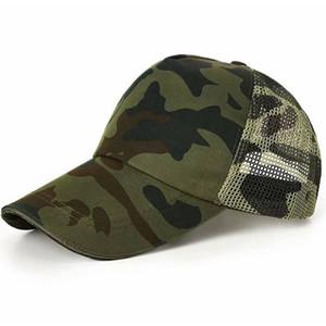 New Outdoor Camouflage Student Campo di addestramento militare Training Cap Visor Tempo libero Jungle Camping Army Fan Cap Combat Cap
