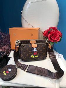 3piece setshopping handbag simple large capacity women shoulder chain decoration messenger bag Designer Women Tote Shoulder Bag Backpack 30