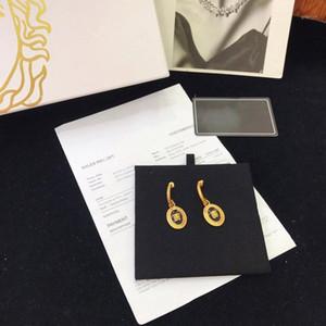 Designer Earring Beauty Portrait Earrings Luxury Jewelry Brass Women High Jewelry Christmas Party Gift Retro Style1