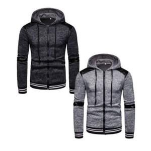 Dropshipping Fornecedores Usa Homens hoodies camisolas Patchwork Headwear Hoodie Hip Hop Streetwear Vestuário Us tamanho S-XL