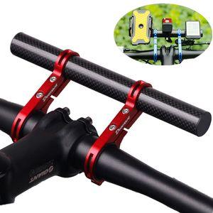 Multi-Fahrrad-Verlängerungsrahmen Doppel Pole Aluminium-Legierung Taschenlampe-Code Tischlampe Verlängerungsstütze Fahrradzubehör