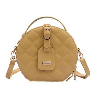 Сумки в стиле кошельков сумочка плечо классическая сумка дизайнерская сумка вперед круглый модный ромбический роскошный посланник Бридль