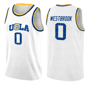 15 NCAA University of California Los Angeles 0 Russell Westbrook Jersey College Basketball veste fdsdsds frete grátis