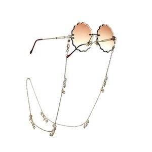 الأوروبية والأمريكية مجوهرات اللؤلؤ المياه العذبة الطبيعية الجديدة نظارات شمسية نظارات سلسلة حبل الملحقات