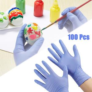100 PCS Kids Disposable Gloves Nitrile Gloves for 4-12 Years Latex Free Protective Children Golves XS  S Nitrile Gloves