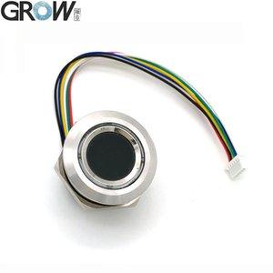 Расти R503 Новый круговой круглый двухцветный кольцевой индикатор светодиодного управления DC3.3V MX1.0-6PIN Емкостный сканер модуля отпечатков пальцев