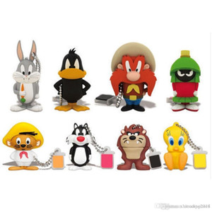 Memory Flash 4GB 8GB 16GB USB 2.0 Stick U Disk Cartoon Gift Pen Drive cute