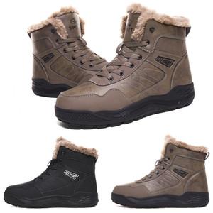 2020 Discount designer quente kind4 Soft Black cinza além de veludo shop01 homem menino homens botas das sapatilhas dos homens de inicialização formadores sapatos de caminhada ao ar livre
