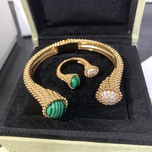 Marque Sterling pur 925 bijoux en argent pour les femmes Autour de perles Bracelet anneaux Ensemble de bijoux Signature amour coloré Ball Cuff Set Bracelet Anneau